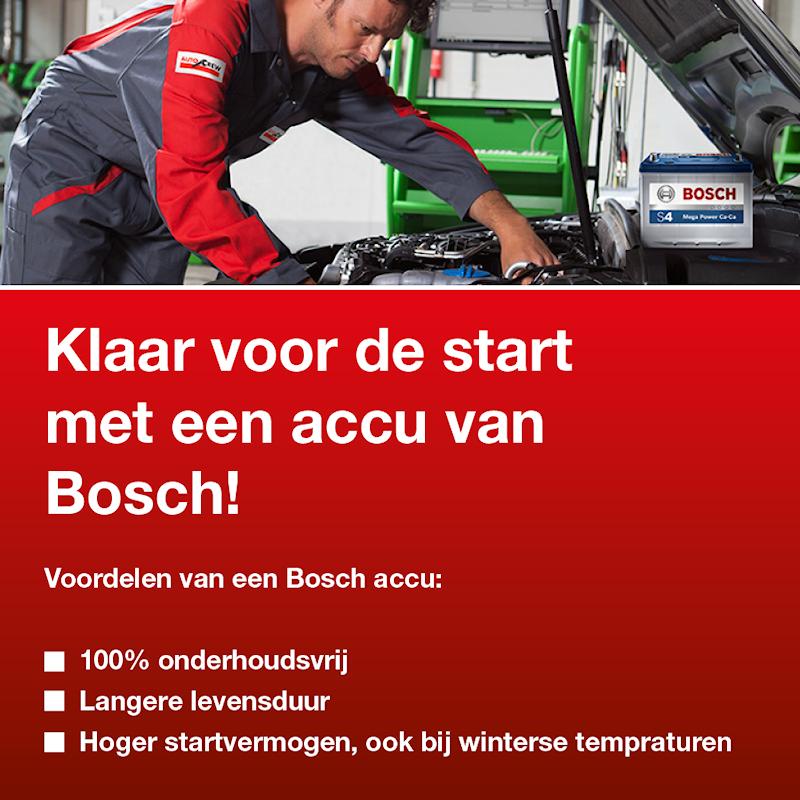 Autocentrum Snip - Doezum - Klaar voor de start met een accu van Bosch!